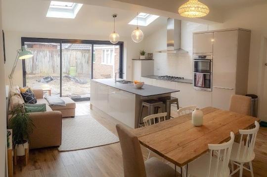 Single Storey Kitchen Extension Clapham