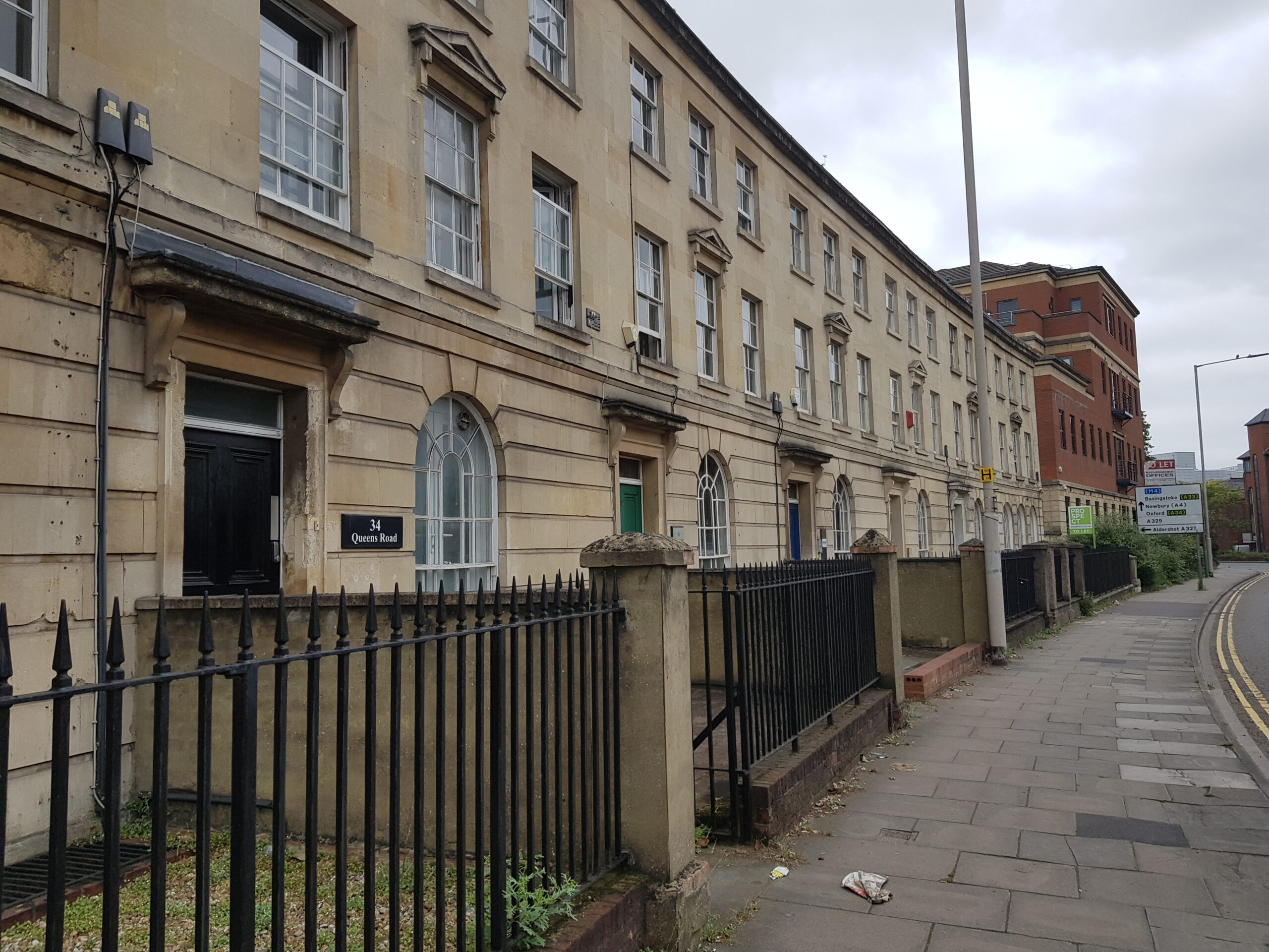 Listed Building Development Reading