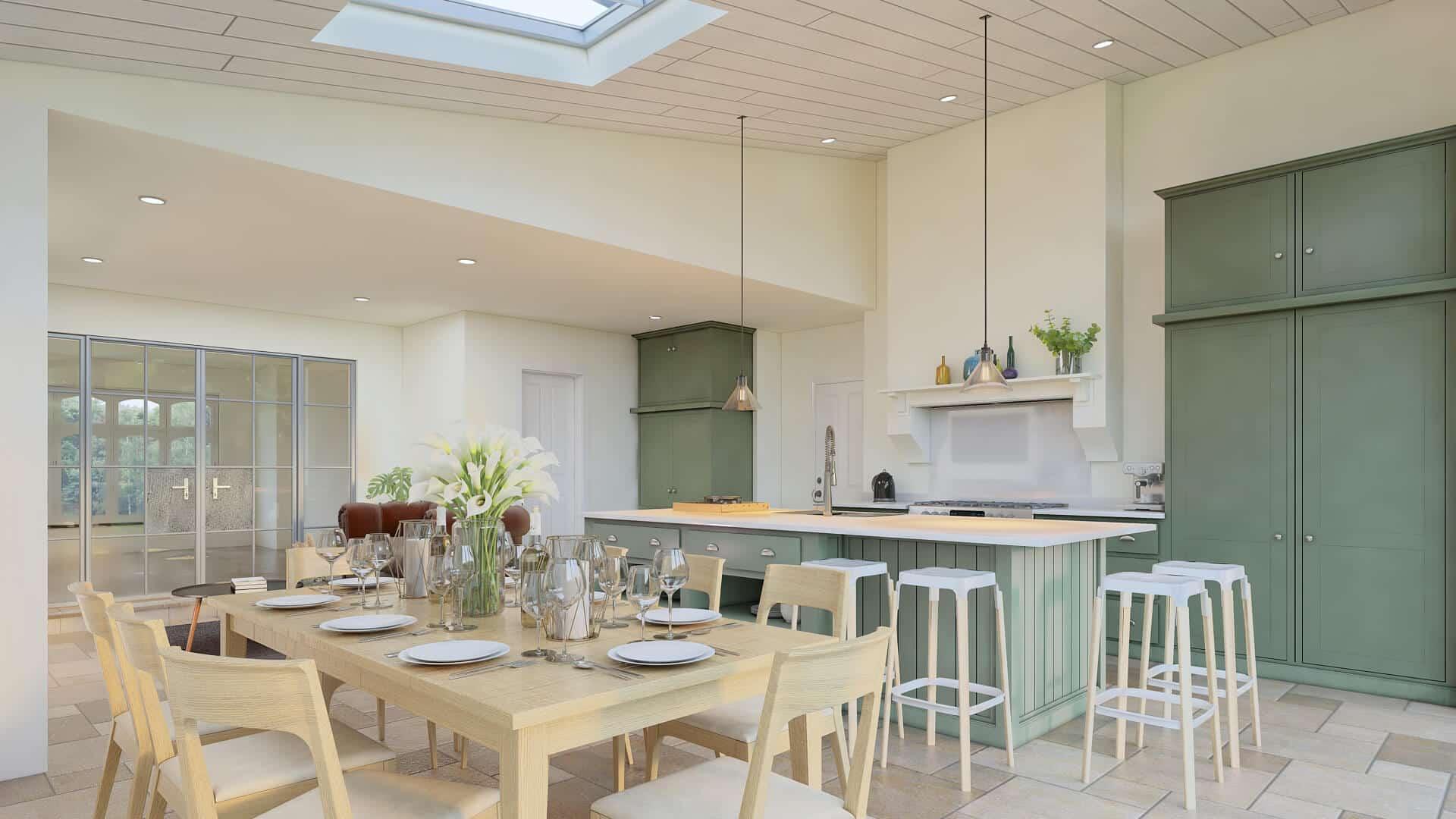 High-End Kitchen Extension Croydon