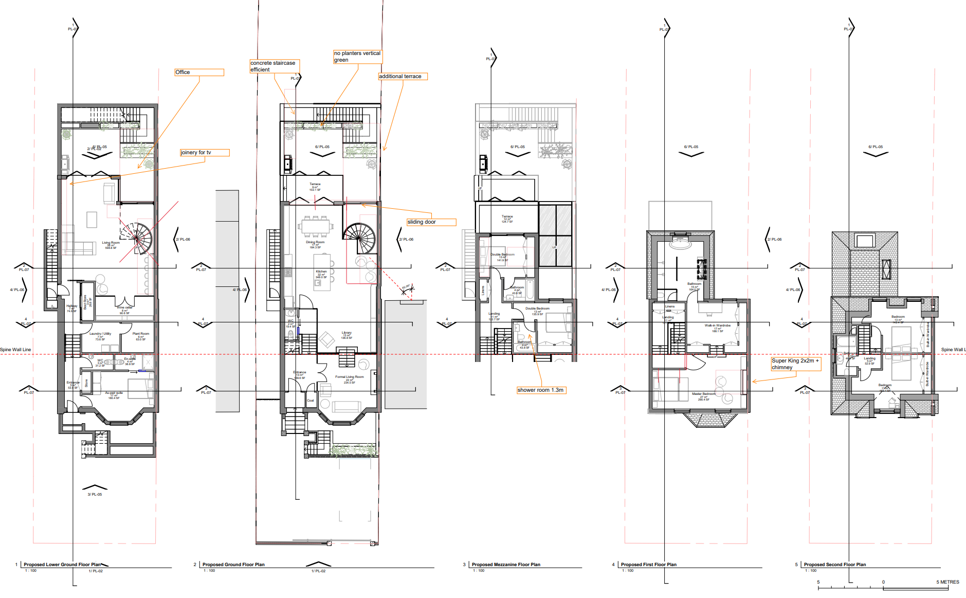 Trinity Proposed Floor Plans